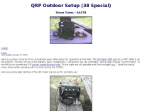 AA5TB - QRP Outdoor Setup