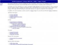 HSMM project using Linksys WRT54G