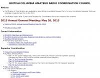 British Columbia Ham Radio Coordination Council