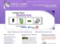 NICD Lady Batteries