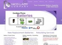 NICD Lady Batteries