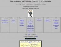 N6QAB Radio Direction Finding Web Site