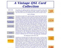 Vintage QSL Collection