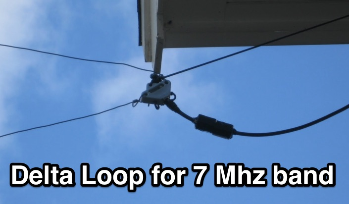 Delta Loop for 7 Mhz band