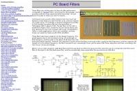 PC Board Filters