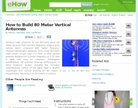 Build 80 Meter Vertical Antenna