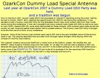 Dummy Load Special Antenna