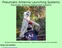 Pneumatic Antenna Launching Systems