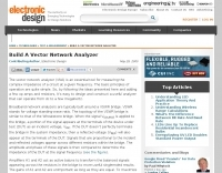 Build A Vector Network Analyzer