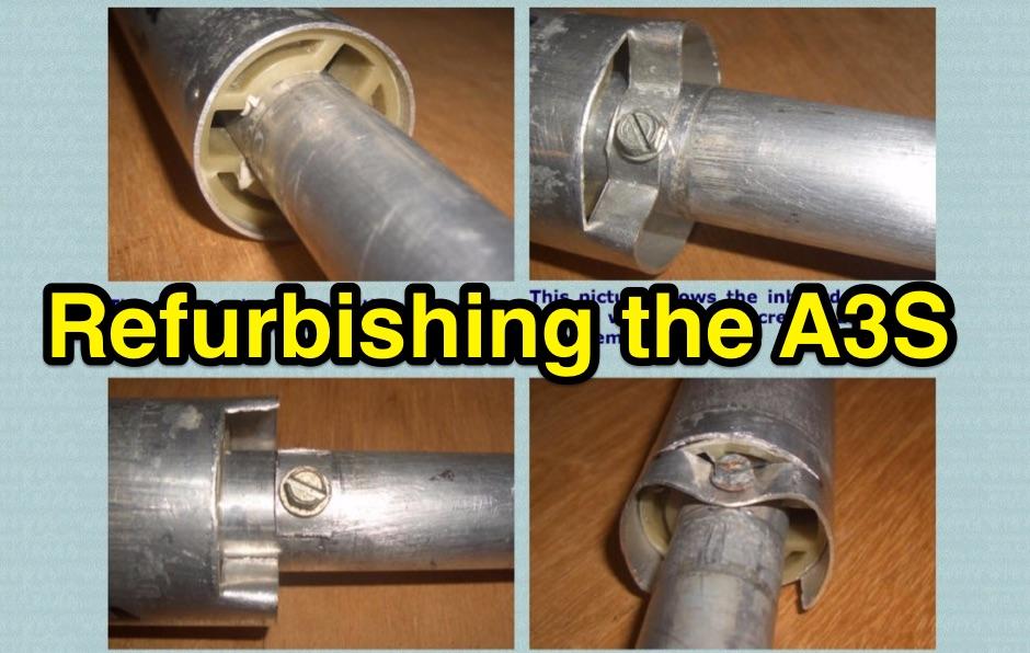 Refurbishing a Cushcraft A3S Antenna