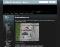 Homebrew longwire antenna launcher
