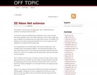 ZZ Wave net antenna
