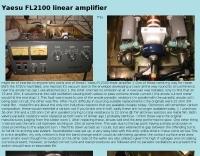 Yaesu FL-2100 linear amplifier