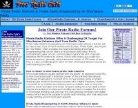 Free Radio Cafe: Pirate Radio Stations