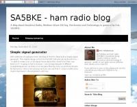 SA5BKE Simple signal generator