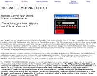 W4MQ Internet Remoting Toolkit