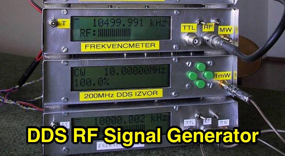 DDS RF Signal Generator Project