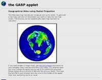 The GARP applet
