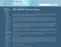 G7AQK remote control setup
