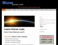MorseFusion: The novel way to learn Morse code.
