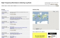 High Frequency/Shortwave Listening Log Book
