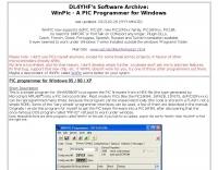 DL4YHF WinPic Programmer
