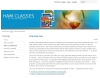 Ham Classes - Study Guide Software