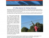A Trolley System for Raising Antennas