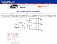 600v Power Supply