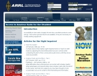 ARRL Access to Amateur Radio for the Disabled