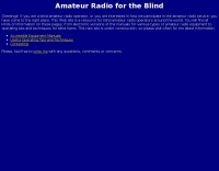 Amateur Radio for the Blind
