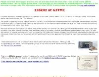 136kHz at G3YMC