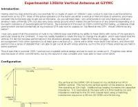 136kHz Vertical Antenna