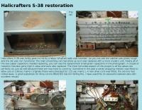 Halicrafters S-38 restoration
