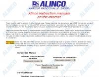 Alinco manuals
