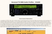 Kenwood TS-590S Audio Profiles