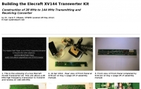 Building the Elecraft XV144 Transverter