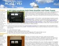 A 600 Watt homebrew Solid State Amplifier