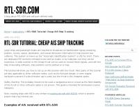 RTL-SDR Tutorial: Cheap AIS Ship Tracking
