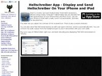 Hellschreiber App