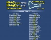 H44S Solomon Islands