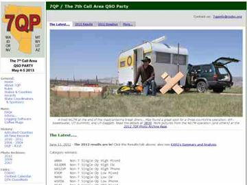 7QP - The 7th Call Area QSO Party