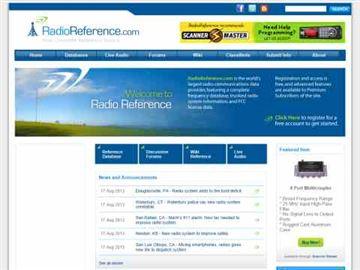 US Radio Reference DB