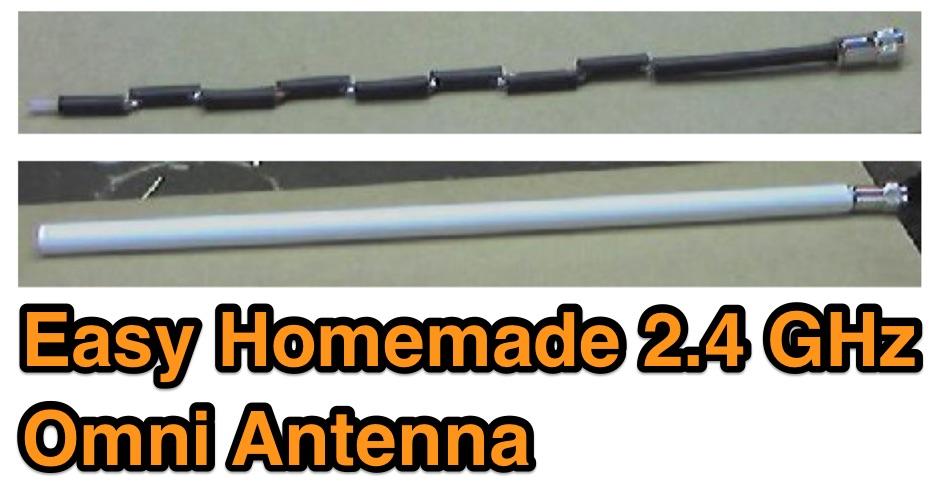 Easy 2.4 GHz Omnidirectional Antenna
