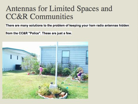Antennas for Limited Spaces