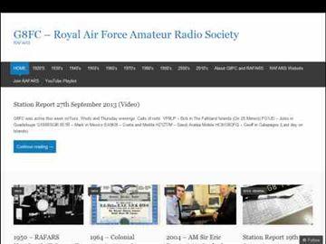 G8FC - Royal Air Force Amateur Radio Society