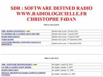 SDR Classification - F4DAN