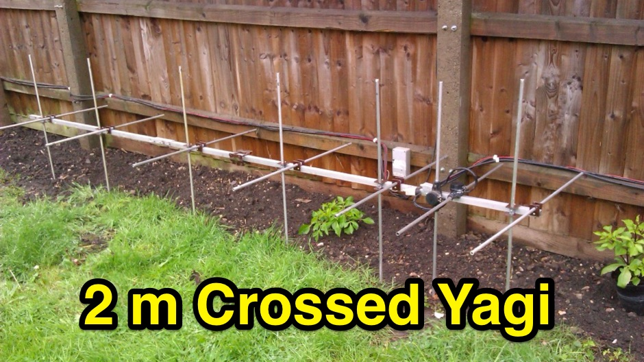 144 Mhz crossed Yagi