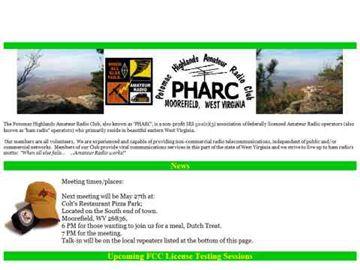 PHARC - Potomac Highlands Amateur Radio Club