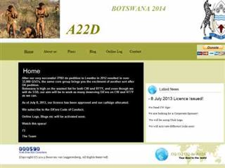 A22D Botswana 2014